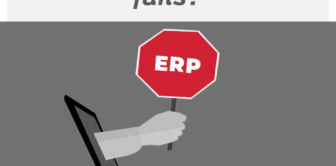 ERP implementation fails